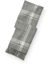 Polo Ralph Lauren   Plaid Wool-blend Scarf   Lyst