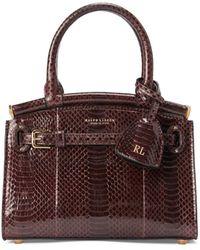 Ralph Lauren - Ayers Mini Rl50 Handbag - Lyst