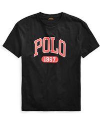 Ralph Lauren Custom Slim Fit Logo T-shirt - Black