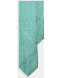 Polo Ralph Lauren Cravate étroite à pois reps de soie - Noir