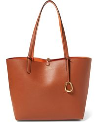 Ralph Lauren - Reversible Faux Leather Tote - Lyst