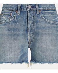Polo Ralph Lauren Pantalón Corto Boyfriend Sprighton - Azul