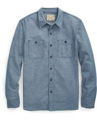Pink Pony - Classic Fit Chambray Workshirt - Lyst