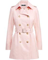 Ralph Lauren - Cotton-blend Trench Coat - Lyst