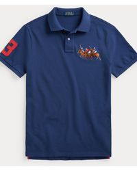 Polo Ralph Lauren - Custom-Slim-Fit Polohemd - Lyst