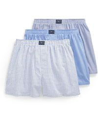 Polo Ralph Lauren - Assorted Cotton Boxer 3-pack - Lyst