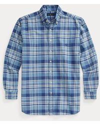 Ralph Lauren - Camisa Oxford De Cuadros - Lyst