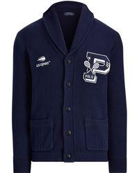 Polo Ralph Lauren - Us Open Cotton Cardigan - Lyst