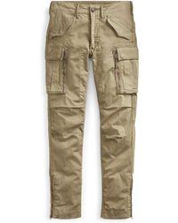 RRL - Skinny Cotton Cargo Pant - Lyst