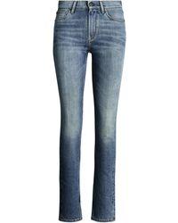 Ralph Lauren Collection Ralph Lauren 861 High-rise Skinny Jean - Blue