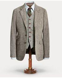 RRL Donegal Wool Tweed Suit Jacket - Multicolour