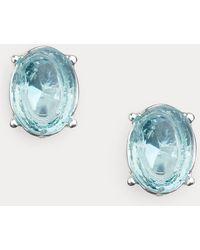 Ralph Lauren Puces d'oreilles avec pierres - Bleu