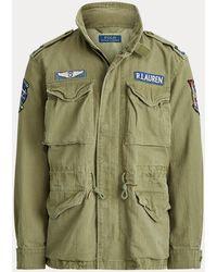 Ralph Lauren Cotton Twill Field Jacket - Green