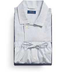 Ralph Lauren Cotton Pajama Gift Set - Blue