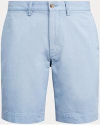 Polo Ralph Lauren Short stretch Classic-Fit - Blu