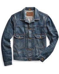RRL Indigo Denim Jacket - Blue