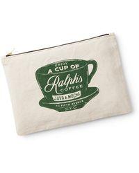 Ralph Lauren Ralph's Coffee Zip Pouch - Green