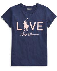 Polo Ralph Lauren - Pink Pony Graphic T-shirt - Lyst
