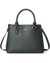 Ralph Lauren Mini Leather Marcy Satchel - Multicolor