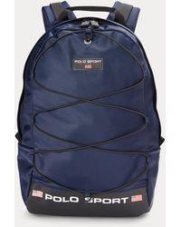 Polo Ralph Lauren Mochila Polo Sport De Nailon - Azul