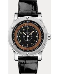 Ralph Lauren - Chronomètre 45 MM acier - Lyst