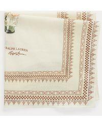 Polo Ralph Lauren Bandana Safari Polo Bear en coton - Neutre