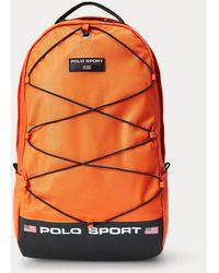 Ralph Lauren Sac à dos Polo sport en nylon - Orange