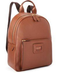 Ralph Lauren Purple Label Calfskin Id Backpack - Brown