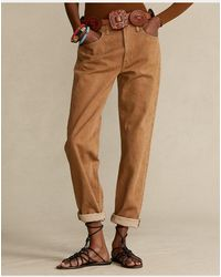 Polo Ralph Lauren Jeans Boyfriend Avery - Marrón
