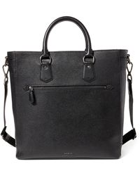 Polo Ralph Lauren - Pebbled Leather Tote - Lyst