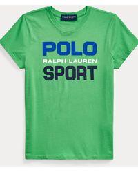 Polo Ralph Lauren - Baumwoll-t-shirt Polo Sport - Lyst