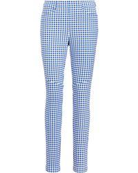 Ralph Lauren - Gingham Skinny Golf Pant - Lyst