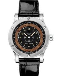 Ralph Lauren 39 Mm Chronometer Steel - Multicolor