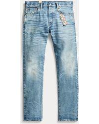 Ralph Lauren Slim Fit Selvedge Jeans - Blue