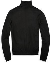 Ralph Lauren Purple Label - Cashmere Turtleneck Sweater - Lyst