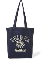 Polo Ralph Lauren - Polo Tiger Canvas Tote - Lyst