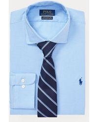 Polo Ralph Lauren Pflegeleichtes Slim-Fit-Anzughemd - Blau