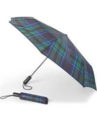 Ralph Lauren Cornwall Collapsible Umbrella - Blue