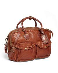 Ralph Lauren Leather Cargo Bag - Brown
