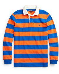 Ralph Lauren The Iconic Rugby Shirt - Orange