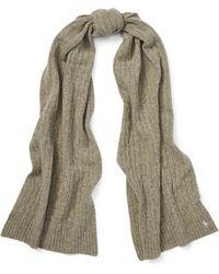 Polo Ralph Lauren - Wool-cashmere Oblong Scarf - Lyst