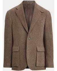 Polo Ralph Lauren Blazer Polo Soft à chevrons - Marron