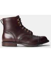 RRL Leather Boot - Brown