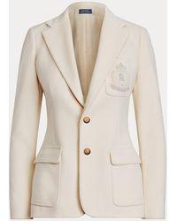 Polo Ralph Lauren Blazer Con Parche De Escudo - Neutro