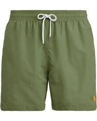 Polo Ralph Lauren Slim-Fit-Badeshorts - Grün