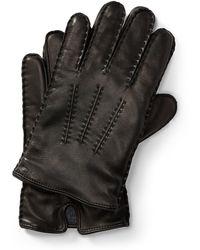 Polo Ralph Lauren Gants tactiles en cuir