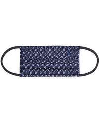 Ralph Lauren Polo Cotton Cloth Mask - Blue