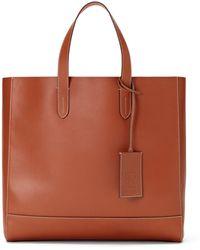 425e8d29cbc Ralph Lauren Medium Tartan Tote Bag for Men - Lyst