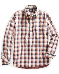 9fbfbf2b RRL Tropical-print Camp Shirt in Blue for Men - Lyst