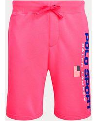 Polo Ralph Lauren Polo Sport-Fleeceshorts - Pink